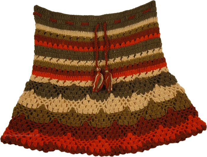 Crochet Short Beach Skirt Short Skirts Sale On Bags Skirts