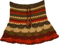 Crochet Short Beach Skirt [4220]