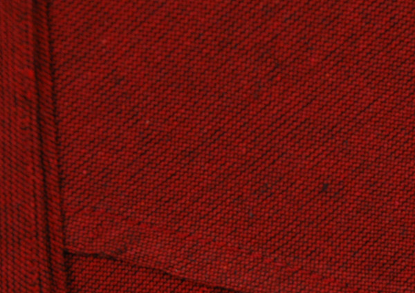 Falu Red Layered Wrapper Skirt