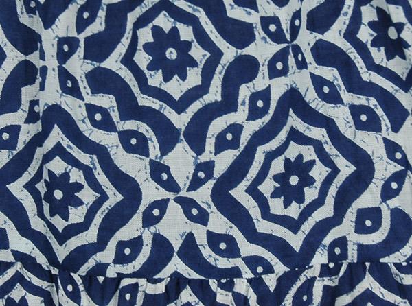 Blue Bay Cotton Short Skirt