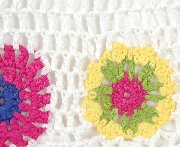 Crochet Boy Shorts in White For Women