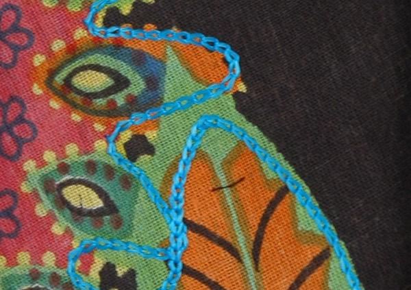 Hippie Floral Mojo Wrap Around Skirt