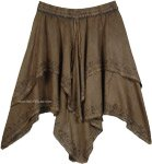 Handkerchief Hem Saddle Texas Ranch Skirt