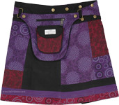 Voodoo Snap and Wrap Skirt with Pocket