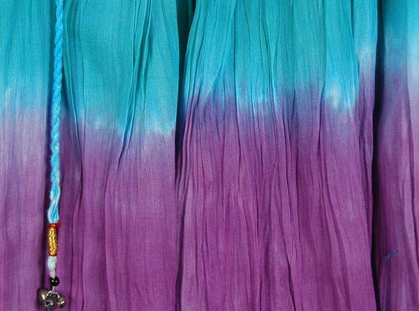 Mild Waters Tie Dye Summer Beach Mini Skirt