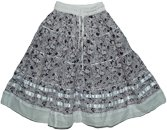 Finn Cotton Short Skirt