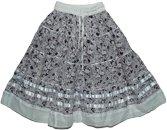 Finn Cotton Short Skirt