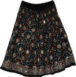 Woodsmoke Gypsy Floral Short Skirt