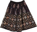 Black Gypsy Short Skirt
