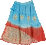 Passion Flare Cotton Trendy Skirt