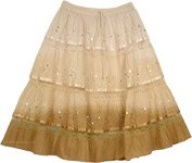 Cameo Cape Ombre Cotton Skirt