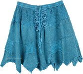 Beach Days Short Skirt in Cobalt Blue