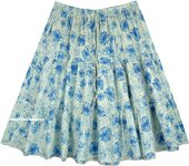 Blue Dandelion Summer Vibes Short Summer Skirt