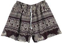 Classic Everyday Boho Beach Shorts XSmall To Medium Size