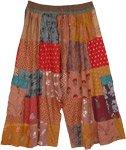 Sahara Vibes Patchwork Unisex Rayon Bermuda Shorts