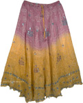 Julia Romantic Silk Skirt