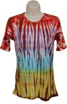 Tie Dye Dye Design Shirt Tunic