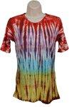 Tie Dye Dye Design Shirt Tunic