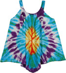 Sleeveless Tie Dye Top for Summer [4011]