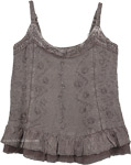 Summer Boho Chic Tank Top in Gray [4403]