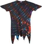 Womens Boho Top Tie Dye [4628]