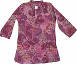 Sequined Paisley Long Tunic