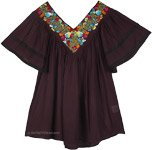 Bohemian Dreams Tunic in Imperial Black [4761]