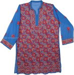 Chathams Blue Tunic XXL Shirt