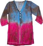 Free Spirit Floral Boho Tunic