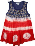 American Patriot Sleeveless Swing Top