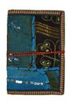 Fabric Patchwork Handmade Blank Paper Journal L