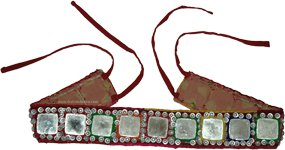 Banjara Big Mirrors and Sequins Belt