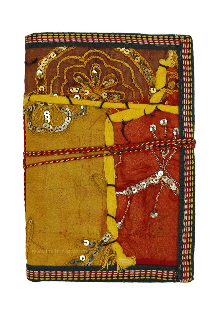 Sari Patchwork Ethnic Cover Writing Journal L