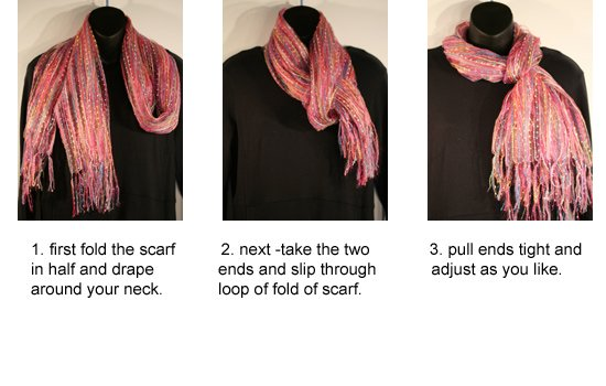 How to wrap a fashion scarf 51